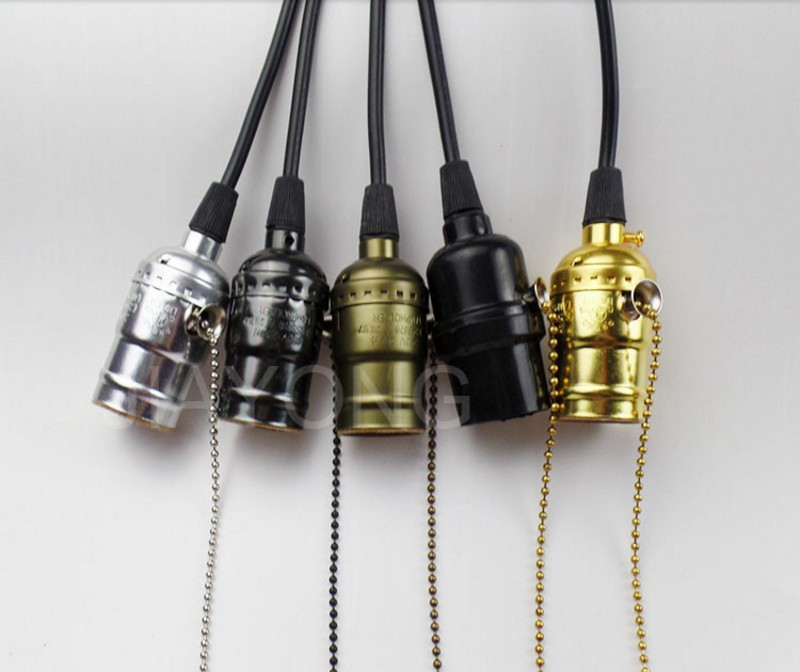 Vintage Pendant Light 5 Style Lamp Holder Light Socket