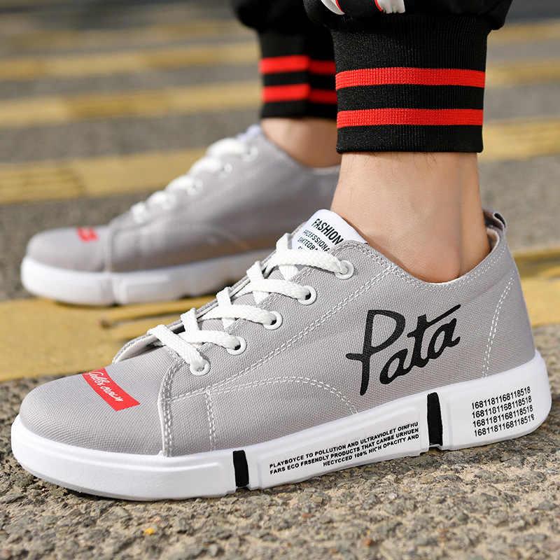 أزياء الدنيم الرجال حذاء قماش الذكور الصيف رياضة الانزلاق على عارضة تنفس أحذية المتسكعون Chaussure أوم Zapatos دي Hombre