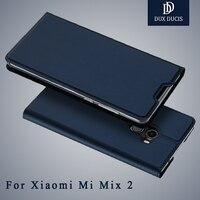 Xiaomi Mi Mix 2 Case Dux Ducis Brand Wallet Leather Cover Xiaomi Mix 2 Case Flip