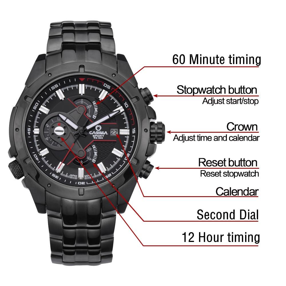 Prabangūs prekės ženklo sportiniai laikrodžiai Vyriški - Vyriški laikrodžiai - Nuotrauka 5