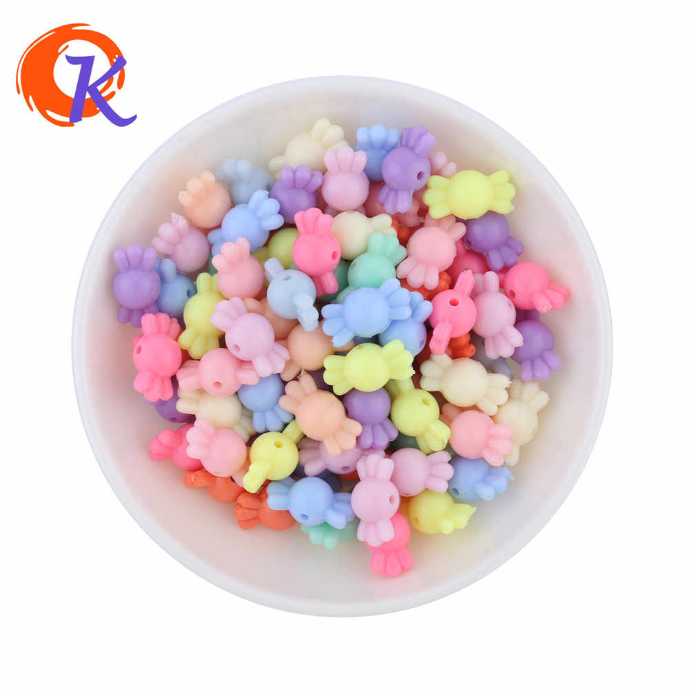 Pastel Color Mix Lot 12*9MM 830PCS Chunky Candy Beads Spring Color Middle Hole For Kids Jewelry Making Amazon CDWB-701261
