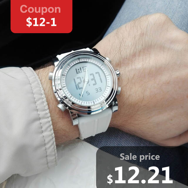 bf56618646b Online Shop SINOBI 9368 relogio masculino digital watch Men WristWatch Date  Waterproof Chronograph Running Clocks Montres Femmes sport watch