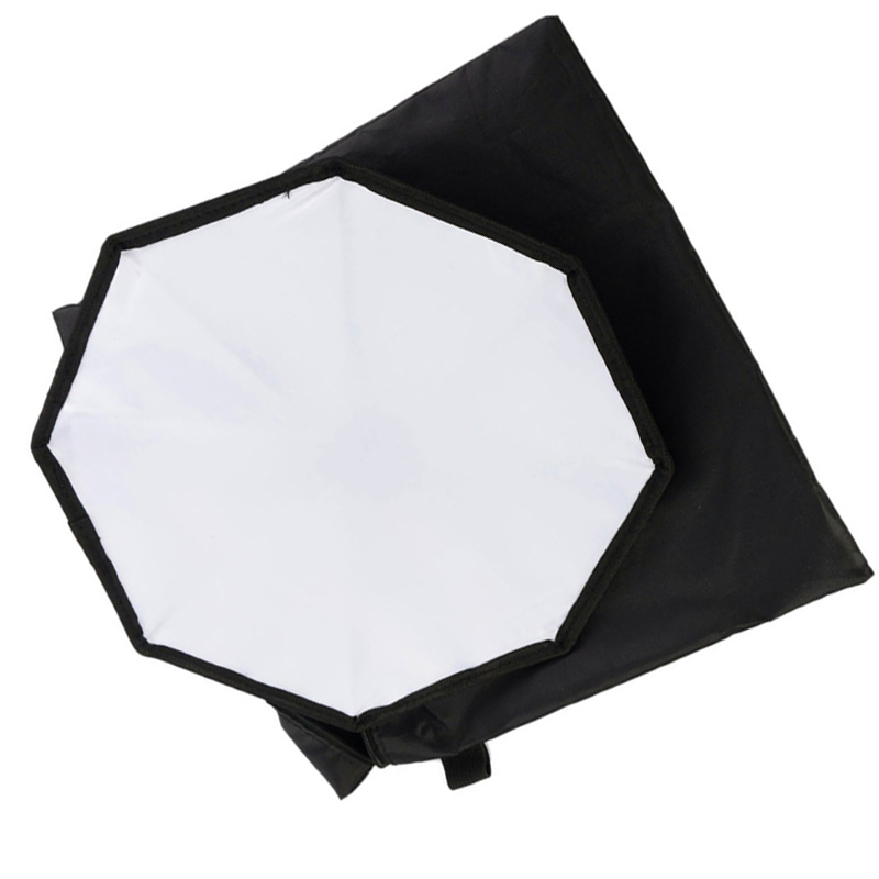 Mini Softbox Flash Diffuser 20cm Octagon Soft Box for Canon for Nikon Speedlite 430EX 580EX 600EX SB900 SB800 SB700