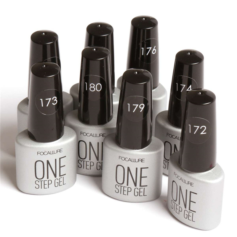 FOCALLURE FA One Step Gel Flesh Color Series Long Lasting Nail Gel ...