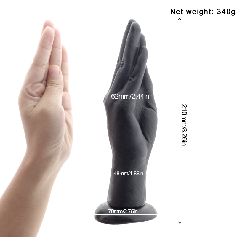 Fist Dildo Big Hand Dildo Large Anal Plug Huge Dildo Arm Fisting Masturbate Flirting Adult Erotic Sex Toys for Women Lesbian in Vibrators from Beauty Health