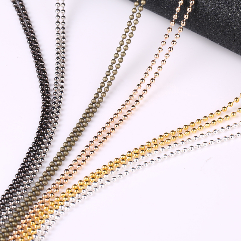 04db969e0fdfe Worldwide delivery 1.5mm ball chain in NaBaRa Online