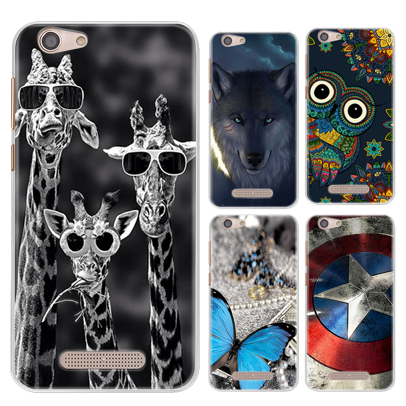 Drop Shipping TPU Soft Phone Case for Cubot Dinosaur/Cubot Note S 5.5-inch Fashion Pattern Colorful Painted