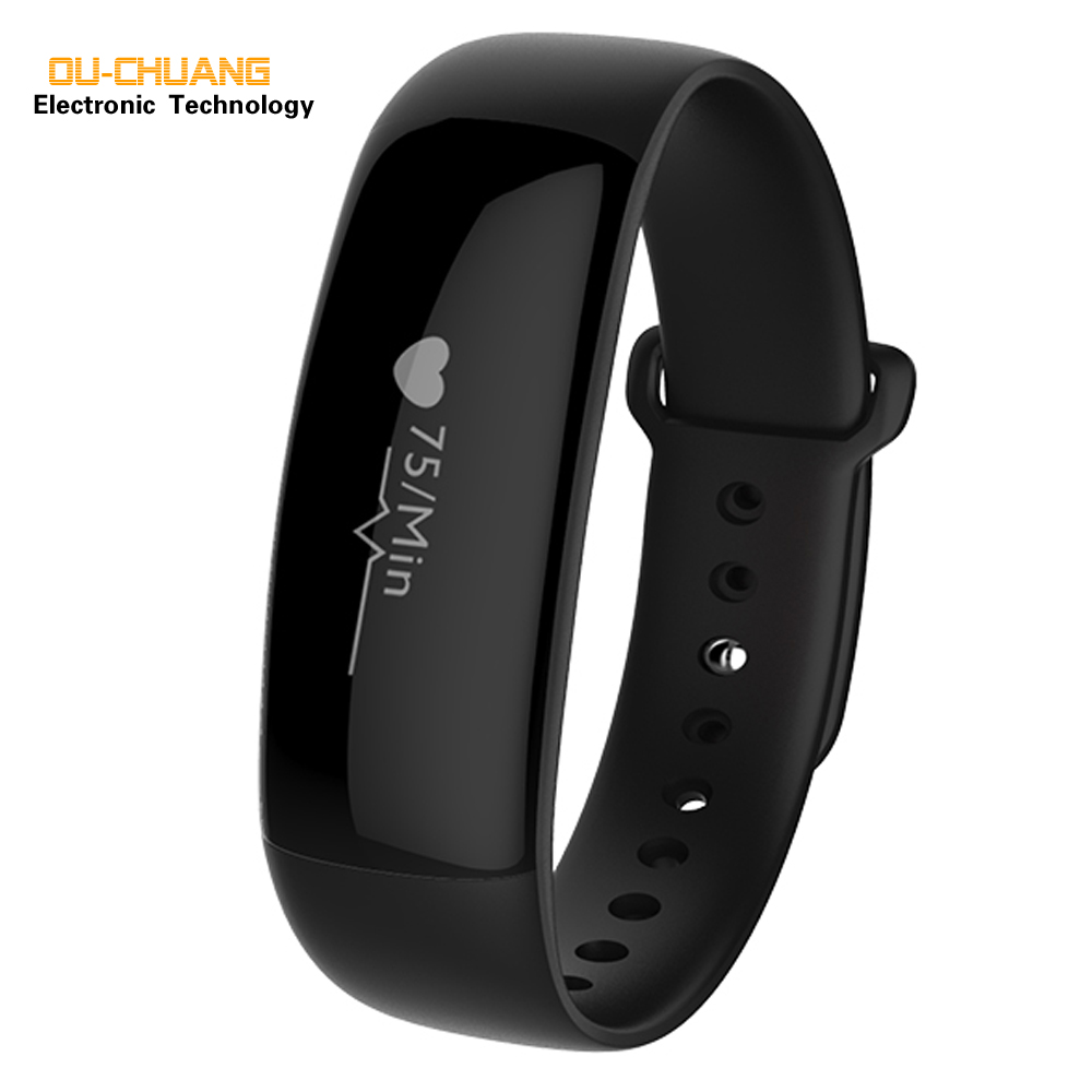 Ouchuang Bluetooth Smart Digital Watch Smartphone Mate Reminder Anti-lost for Android IOS Sports Partner Men Women Fashion Watch anti lost smart bluetooth 4 0 wallet for men women
