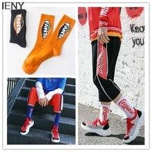 IENY Street skateboard personality socks couple autumn socks Europe and the United States street ins socks