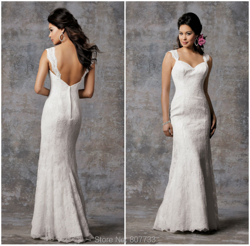 Jm Bridals Cw3506 Clic Mermaid Lace Simple Wedding Dresses