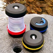 Retractable Camping Lights font b LED b font font b Flashlight b font Portable Lantern Mini