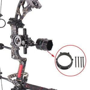 Image 2 - 1Pcยิงธนูอะแดปเตอร์Compound Bow SightขอบเขตRailชุดสำหรับถ่ายภาพเล็งอุปกรณ์เสริม