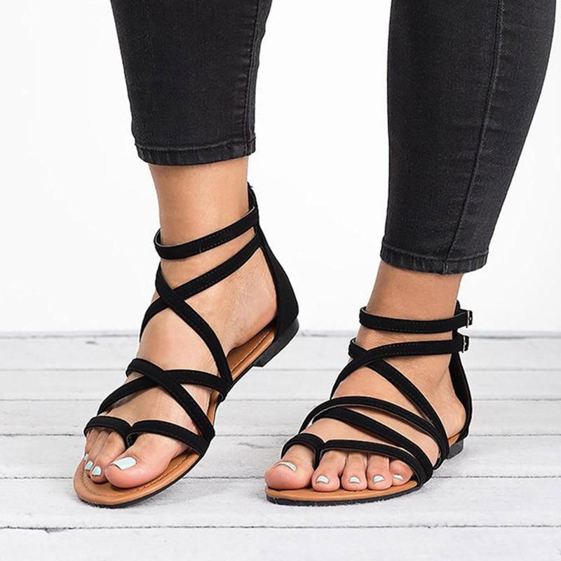 35 Planas Oxcerdbw Zapatos Mujer Grande 43 De Talla Sandalias clTFK1J