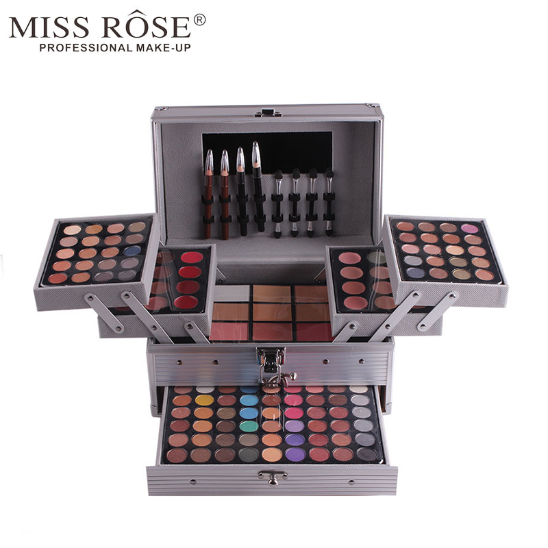 Miss Rose 1 Box Professional Make up Artist Use 94 Colors Matte Shimmer Eye Shadow Concealer