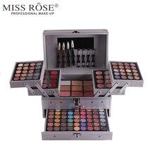 Miss Rose Caixa Profissional Make-up Artist Uso 94 1 Cores Matte Shimmer Sombra de Olho + Corretivo + batom caneta + Blush A153