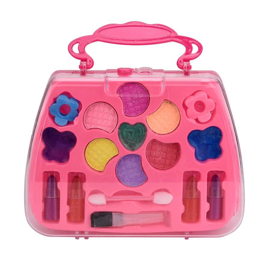 Fantasiespel Plastic Make Meisje Speelgoed Deluxe Make Palet Set Non Giftige Simulatie Kaptafel Voor Kinderen/kinderen Cherryb