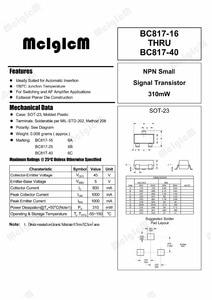 Image 2 - Mcigicm 3000 Pcs BC817 BC817 25 Sot 23 Npn 0.1A/45V Algemene Purpose Transistor Nieuwe Originele, Bc817