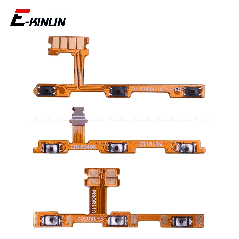 Mute Switch Power Key Ribbon For HuaWei Honor Play 8A 7A 7C 7X 7S 6A 6C 6X 5C Pro ON OFF Volume Button Control Flex Cable