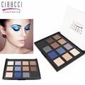 Marca Da Sombra Da Sombra de Maquiagem Profissional Paleta Fosco Sombra de Olho Paleta de Maquiagem Cosméticos Set 12 Cores