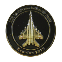 Manufacturer custom black nickel metal coins quality air force military