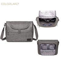 Colorland Multifunctional Large Capacity Holding Mummy Bag Shoulder Cross Travel Bag Baby Diaper Bag