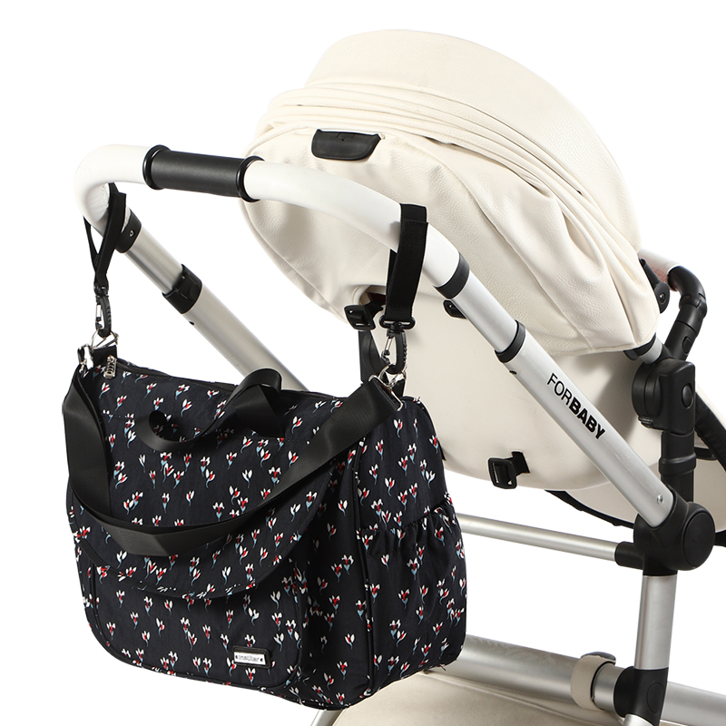 Image 2 - New Print Baby Bag for Stroller Waterproof Diaper Bag for Mom Large Capacity Mommy Nursing Bags Baby Care Maternity BagDiaper Bags   -