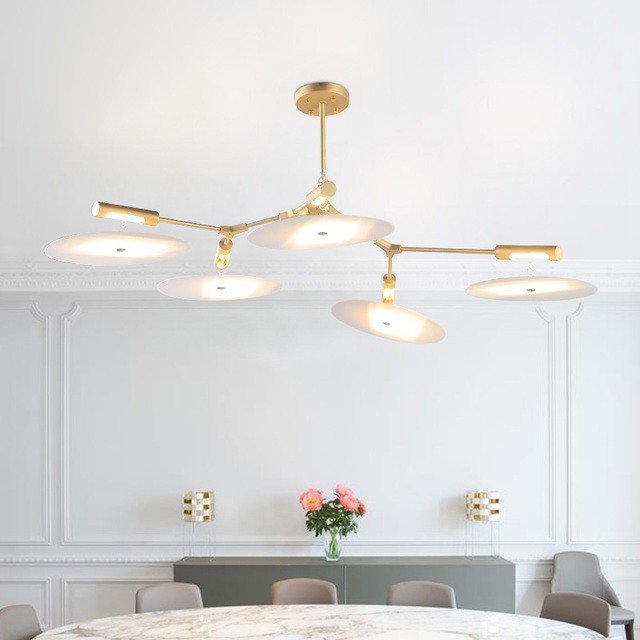Post Moderne Minimalist Schlafzimmer Wohnzimmer Anhänger Lampe Luxus Modell  Haus Kreative Designer Drehen Singles Anhänger