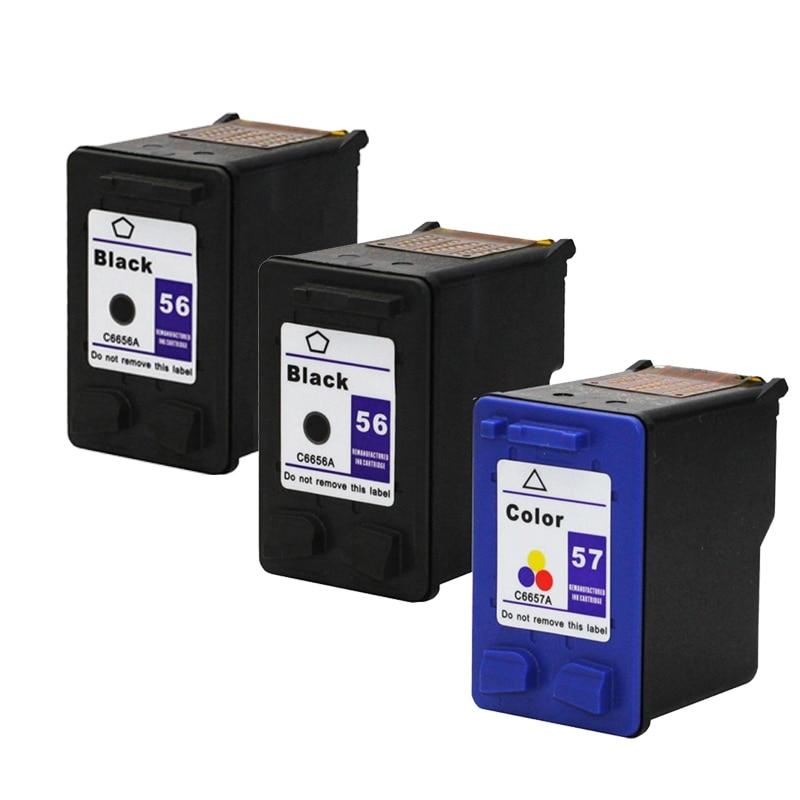 For HP 56 57 Ink Cartridge for HP56 Deskjet 5150 450CI 450wbt 450cbi 450 5550 5650