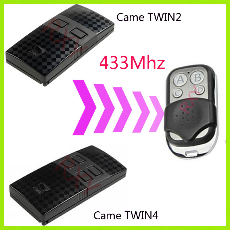 Duplicator CAME TWIN2 or TWIN4 433.92MHZ Universal remote control transmitter fob cybernetics or control