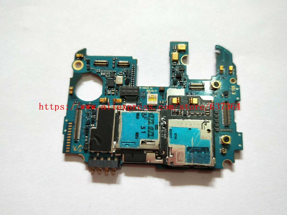 95% work Europea version original unlocked motherboard for samsung Galaxy S4 i9505 main system board with chips кольцо из серебра valtera 42251