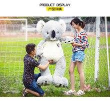 large 140cm koala bear plush toy  koala doll soft hug pillow, Valentine's Day birthday gift Xmas gift c623