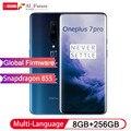 Глобальный ПЗУ оригинальный Oneplus 7 PRO 8 Гб 256 Гб Смартфон Snapdragon 855 NFC 6,67 дюймов жидкий AMOLED дисплей отпечатков пальцев UFS 3,0