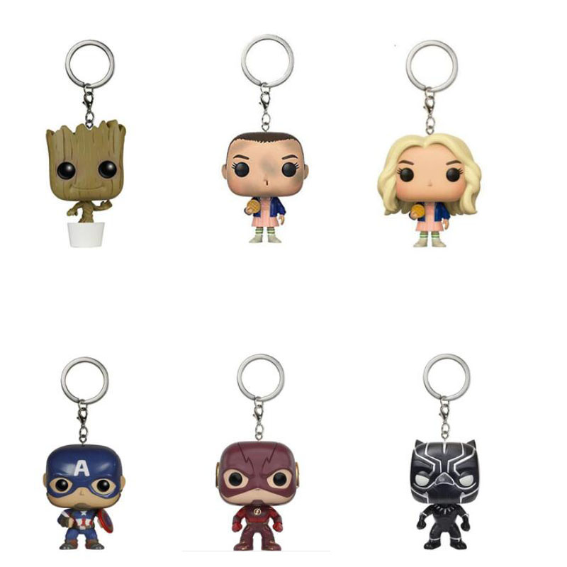 mini-font-b-marvel-b-font-figures-black-panther-the-flash-captain-america-ironman-deadpool-keychain-toys-figurines-keychains-toys