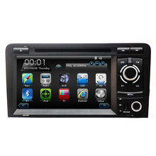 Car DVD GPS Navigation for Audi A3 S3 2002 2003 2004 2005 2006 2007 2008 2009 2010 2011 2012 with Bluetooth Ipod TV RDS STW