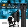 Aputure DEZEMBRO LensRegain Follow Focus Sem Fio Adaptador de Lente Focal Redutor para canon ef lens para mft micro quatro terceiro monte câmera