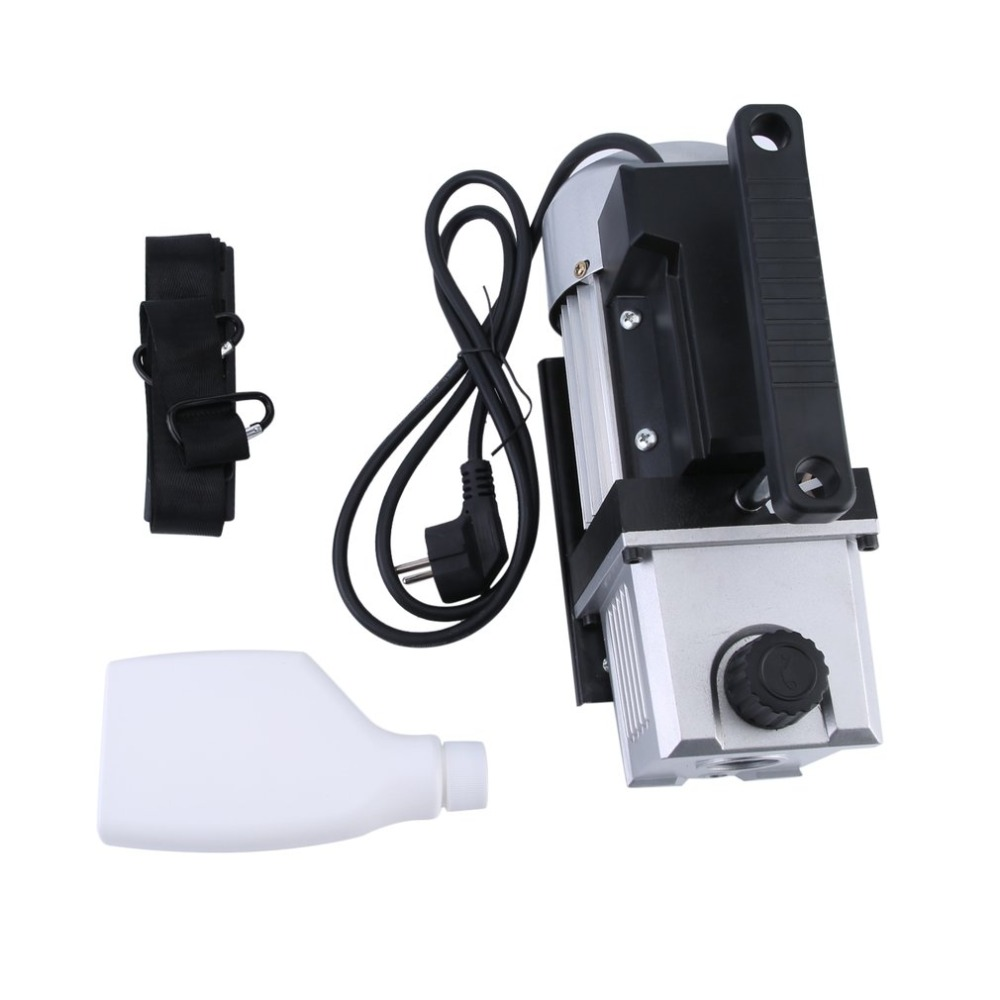 (Ship From DE)3.5CFM 1/3HP High Power Single Stage 5 Pa Vacuum Pump For Refrigeration Air Conditioning Systems EU Plug