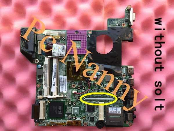 LAPTOP MOTHERBOARD FOR TOSHIBA M300 M800 SERIES A000027030 GL960 INTEL DDR2 WITHOUT GRAPHICS SLOT TEST BEFORE SHIPMENT