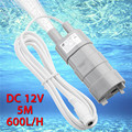 12V Water Pump Brushless Magnetic Submersible 5M 600L/H Water Pump For Garden Fish Pond Fountain Aquarium