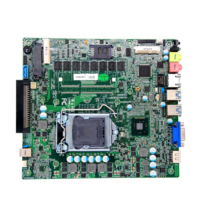 все цены на Hasewell LGA1150 CPU industrial ops motherboard OPS81 with 8*USB/ VGA/DC POWER SUPPLY онлайн
