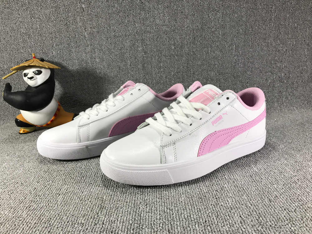 68a1b2f6eb1 Original 2018 BTS x Puma Collaboration Puma Court Star Korea Cadet shoes  Women s Sneakers Badminton Shoes
