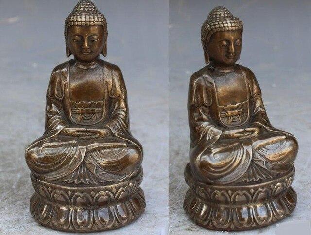 13cm Bronze Buddha