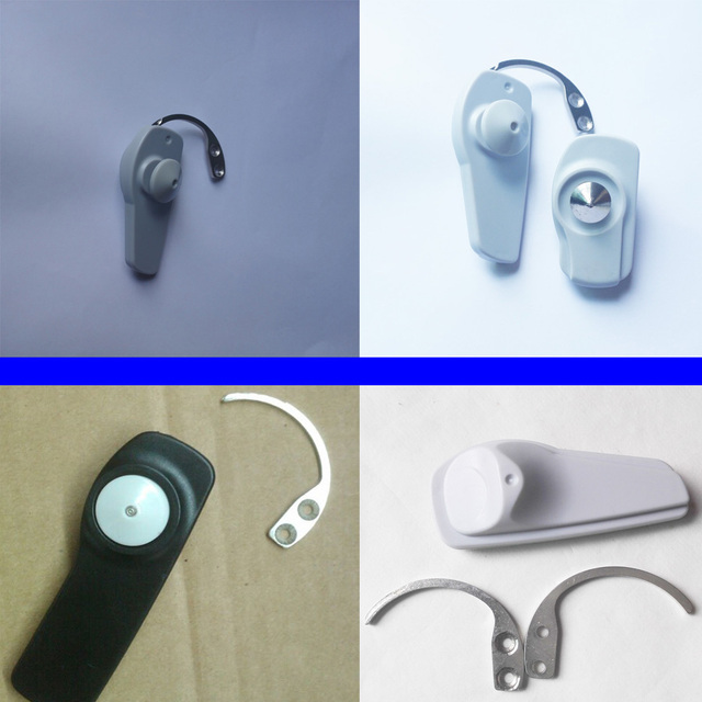 10pcs detacher hook mini eas detacher for super security tag AM58Khz hard tag remover,convenient hook detacher free shipping
