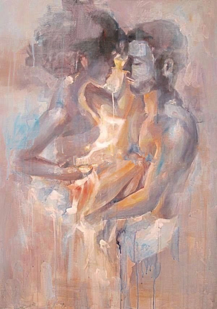 Naked couple paintings, korean actress scene