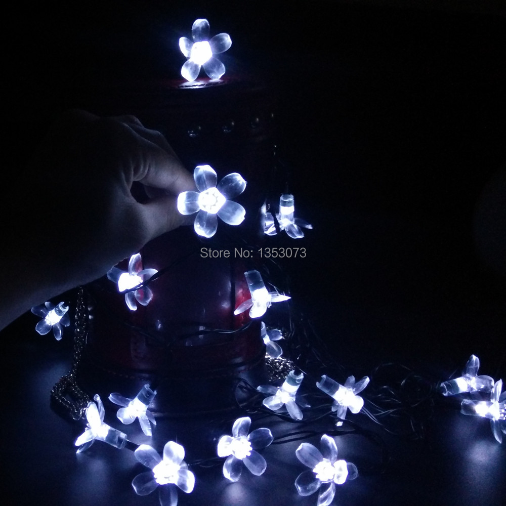 Outdoor Solar Lights String Yiyang 7m 50leds sakura flower solar lights string fairy led garden 48m 7m 10m 12m 22m christmas solar led string lights leds solar lamps garden outdoor workwithnaturefo