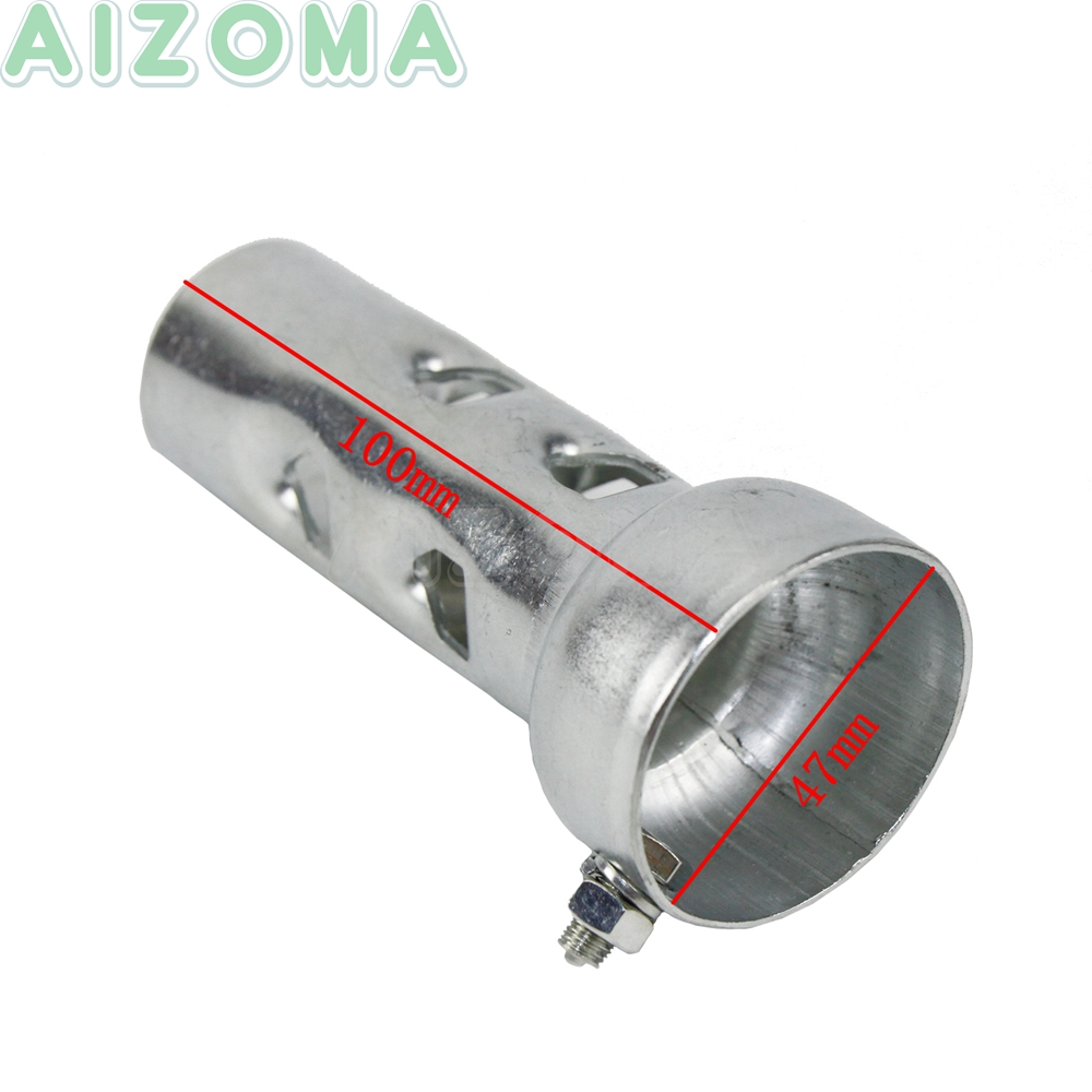 Short 4 Inch Exhaust Baffle for 1.5 Inch Drag Pipes