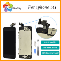 100% Test For iphone 5 5G LCD display digitizer Touch Screen + Home button + Front camera+ Tools Assembly , Free shipping