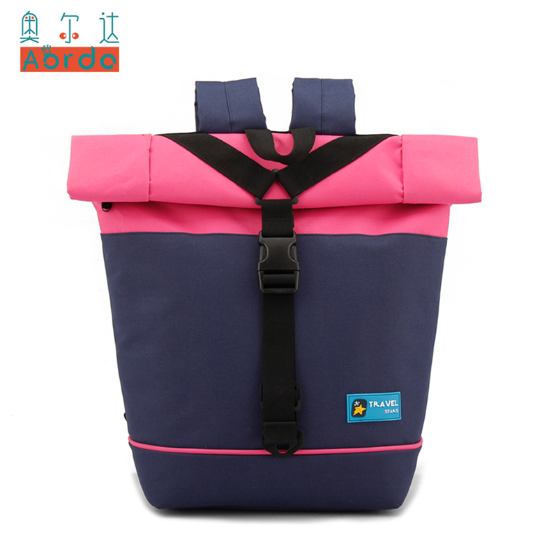 Best buy AORDA Women Backpack Casual Soft Mochila Escolar Girls 14 Laptop  Backpack Panelled Colors School Bags Backpack for teenage Girl online cheap 2ffbf106e6