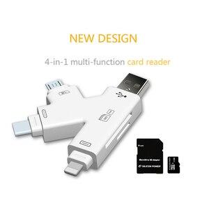Image 5 - USB TF SD Adapter Đọc Thẻ Cho Lightning ANDROID Loại C OTG Smart Adapter Thẻ Nhớ Cho iPhone Android Máy Tính Xách Tay máy tính để bàn