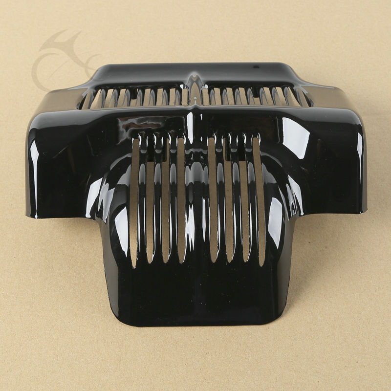 TCMT Motorcycle Stock Oil Cooler Cover For Harley Touring Electra Road Street Glide Trike FLHT FLTR FLHX black motorcycle rear view mirrors for harley flht touring flhx 2014 2016