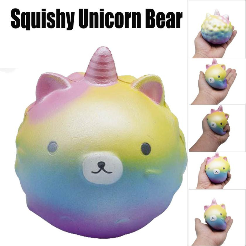 USPS shipping kawaii squishies Squishy Bear Squishy Slow Rising Kid Toy Squeeze Relieve Stress Toy Antistress toys oyuncak